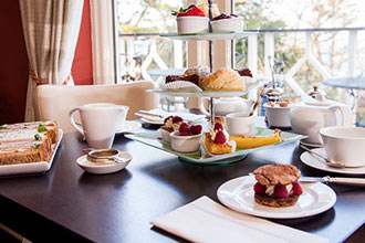Champagne Afternoon Tea for Two at The Orestone Manor Hotel