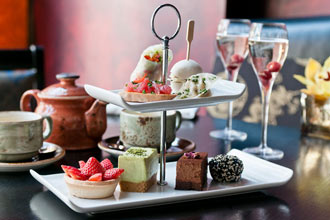 Prosecco Afternoon Tea at Buddha-Bar for Two