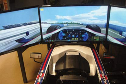 Premium Formula 1 Simulator for Two