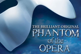 Top Price Tickets to Phantom of the Opera and a Meal for Two