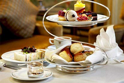 Stylish London Afternoon Tea for 2