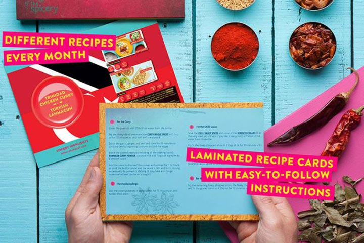 Six Month Recipe Kit Subscription with The Spicery