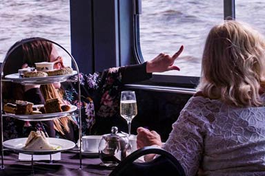 Afternoon Tea on the Thames with Prosecco for Two