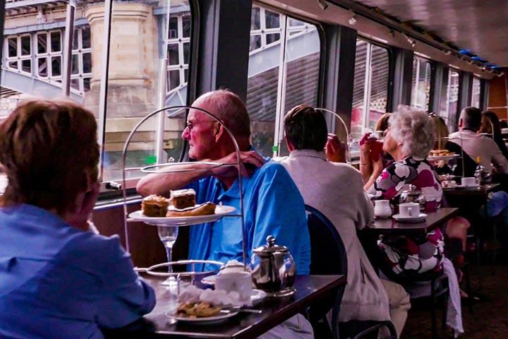 Thames Bucks Fizz Cream Tea Cruise for Two