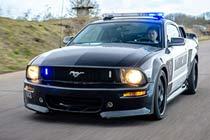 Transformers Barricade Mustang Blast