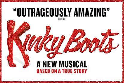 Tickets to Kinky Boots and a Meal for Two