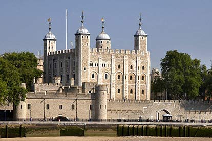 Entrance to the Tower of London for Two