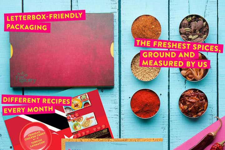 Twelve Month Recipe Kit Subscription with The Spicery