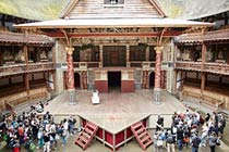Visit to Shakespeare's Globe and a Meal for Two