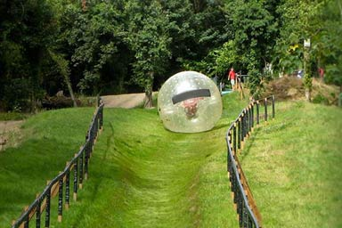 Zorbing for Two Thumb