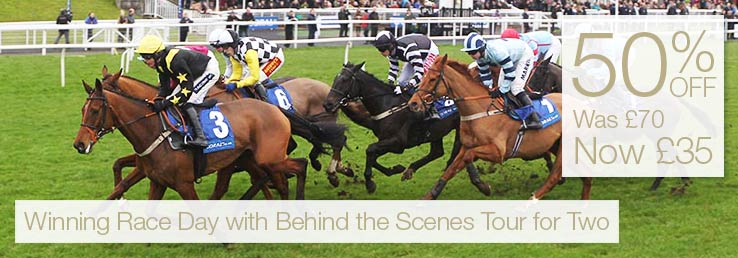 Winning Race Day with Behind the Scenes Tour for Two