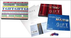 Boxed gift pack